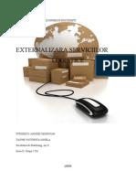 externalizarea serviciilor logistice