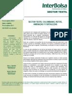 Informe Sectorial - Sector Textil - N1 1