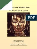 A Discourse on the Bhara Sutta[1]