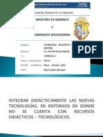 Integracion Didactica de Las Nuevas Tecnologias