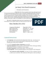 ISU Instructions 2011-2012