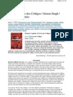 Primeiro Capítulo - O Livro dos Códigos - Simon Singh