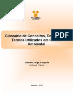 Glossario de Termos Utilizados Em Gestao Ambiental