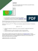 MATEMATICAS  Clasificación de las funciones