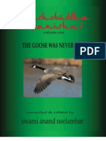 Taoshobuddha Upanishad Vol 1 - The Goose Was Never in Sample Copy