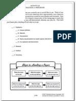 procedure teaching checklist
