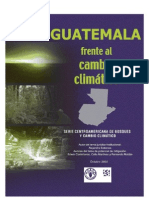 Guatemala frente al Cambio Climático