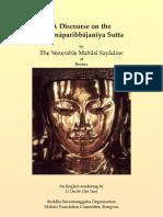 A Discourse on the Sammaparibbajaniya Sutta[1]