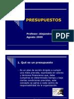 PPresupuestos2009