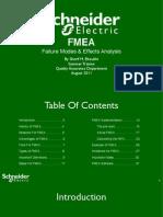 FMEA Failure Modes & Effects Analysis