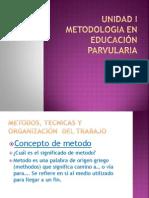 Unidad I metodologia