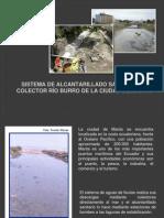 Sistema de Alcantarillado Sanitario de Colector Rio Burro