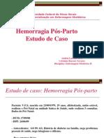Apresentação Hemorragia Pós-parto