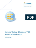 Acronis Backup & Recovery 10 User Guide