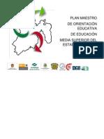 Plan Maestro de Orientación Educativa (Versión completa)