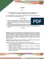 Reglamento  comisión de evaluación