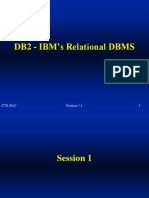 DB2 - IBM s Relational DBMS