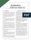 DOUTRINAS BÁSICAS - SEMINÁRIO