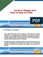 Cualidades Para Crear Un Blog Con Exito