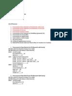 MM Process Document