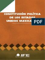 Constitucion de Estados Unidos Mexicanos