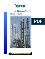 Ammonia Properties and Handling