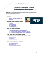 Analysis of Financial Terrorism in America