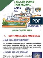 Conferencia JV Contaminación Ambiental y DS