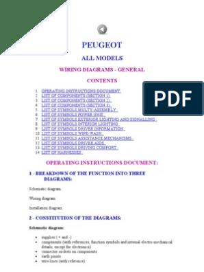 PEUGEOT   Automatic Transmission   Diesel Engine