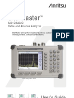Anritsu Site Master s331d-s332d User Guide