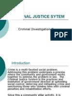 Criminal Justice Sytem