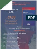"""CASD presentazione libro """"Libano, una polveriera nel Mediterraneo"""""""