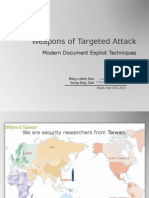 Black Hat USA 2011 - Weapons of Targeted Attack
