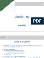 Bluefly Goldmansachs Presentation 052407