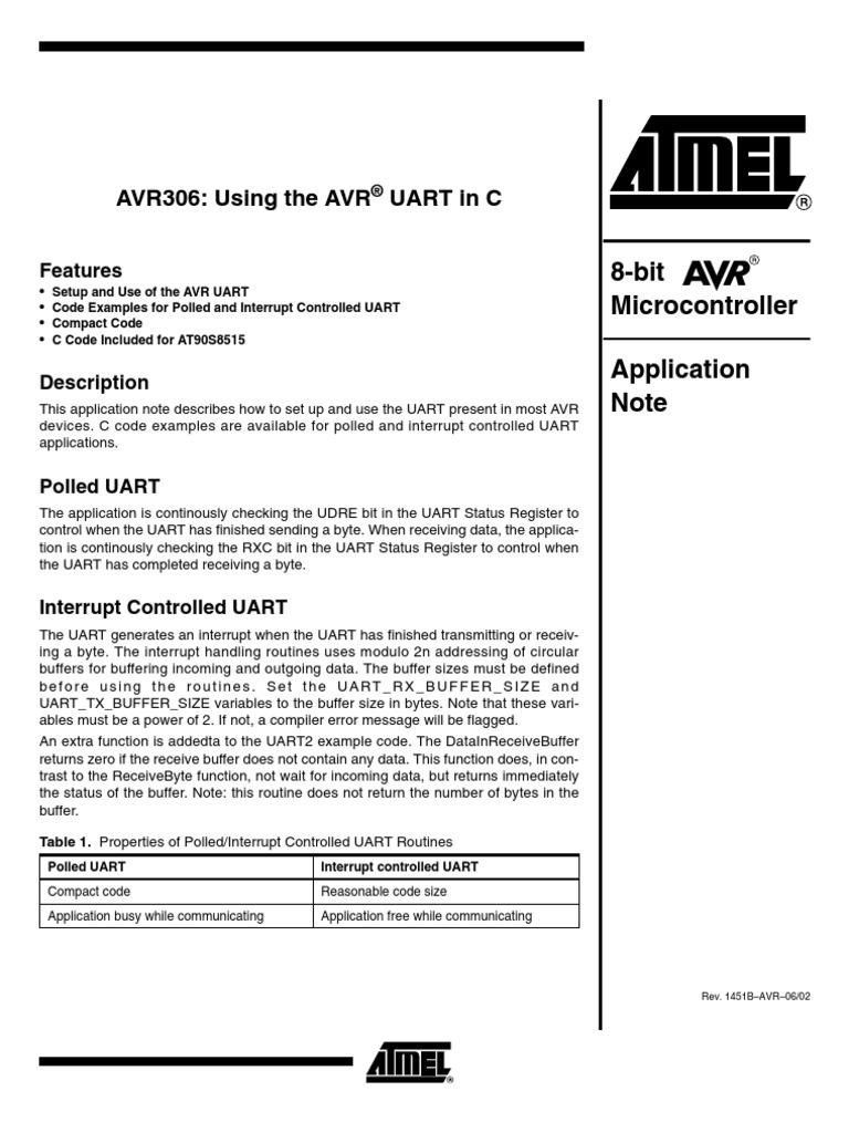 Doc1451 UART Send Receive   Data Buffer   C (Programming Language)