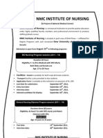 Ad. for BS Nursing