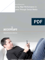 Accenture Achieving High Performance in Insurance Through Social Media Final2