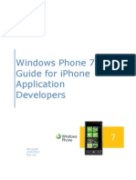Wp7 Dev Guide for iPhone App Developers