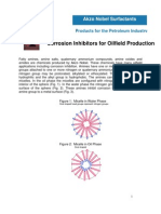 Corrosion Inhibitors for Oilfield Production