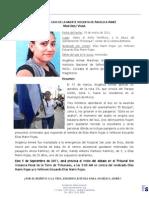 Inicio Debate por muerte violenta de Angelica Aimee Martínez Vivar