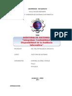 Tgrabajo Integrida,Confiabilidad y Disponibilidad de La Auditoria 1
