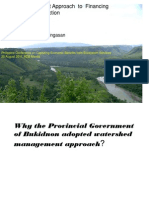 Bukidnon Government Approach to Financing Watershed Protection_Calingasan