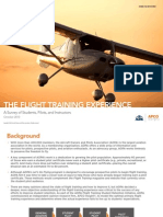 AOPA Research-The Flight Training Experience