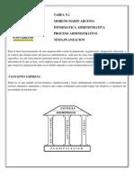 El proceso administrativo