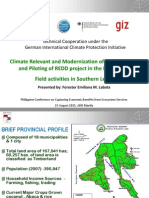 Forest and Climate Protection Project in Southern Leyte