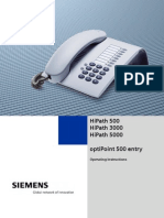 Siemens Optipoint 500 Entry