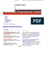 Miniature Circuit Breaker Sizing _ Electrical Engineering Centre