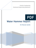 Water Hammer Report