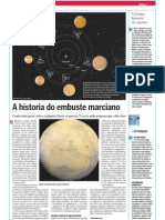 A historia do embuste marciano