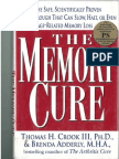 The Memory Cure by Thomas H Crook 9